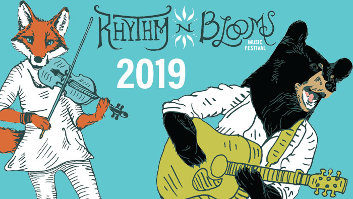 Rhythm and Blooms Music Festival 2019 has arrived!