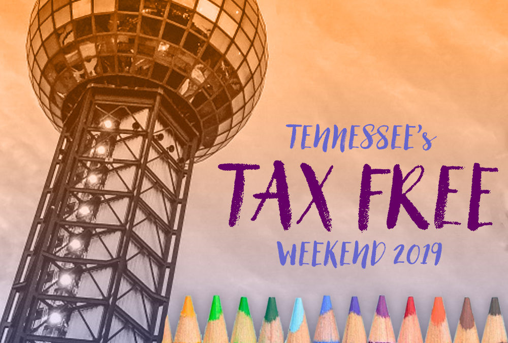 What to know about Tennessee's 2019 Tax Free Weekend, which kicks off today